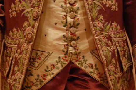 Man's Suit Detail
