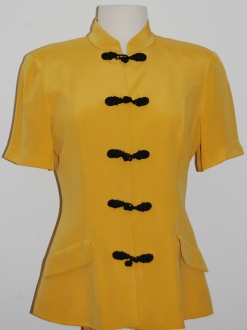 Yellow Silk Tunic 002