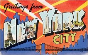 Old NY postcard